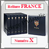 RELIURE LUXE - FRANCE N° X et Boitier Assorti (FR-LX-REL-X) Davo