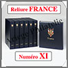 RELIURE LUXE - FRANCE N° XI et Boitier Assorti (FR-LX-REL-XI) Davo