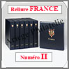 RELIURE LUXE - FRANCE N° II et Boitier Assorti (FR-LX-REL-II) Davo
