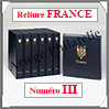 RELIURE LUXE - FRANCE N° III et Boitier Assorti (FR-LX-REL-III) Davo