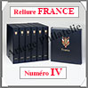 RELIURE LUXE - FRANCE N° IV et Boitier Assorti (FR-LX-REL-IV Davo