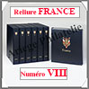 RELIURE LUXE - FRANCE N° VIII et Boitier Assorti (FR-LX-REL-VIII Davo
