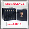 RELIURE LUXE - FRANCE CRF N°II et Boitier Assorti (FR-LX-REL-CRFII) Davo