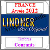 FRANCE 2012 - Timbres Courants (T132/12-2012) Lindner