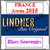 FRANCE 2015 - Blocs Souvenirs (T132/14-2015B) Lindner