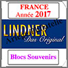 FRANCE 2017 - Blocs Souvenirs (T132/16B-2017) Lindner