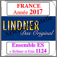 FRANCE 2017 - Jeu Complet + Ensemble 1124 (T132/17ES)
