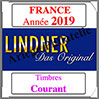 FRANCE 2019 - Timbres Courants (T132/18-2019) Lindner