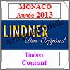 MONACO 2013 - Timbres Courants (T186/09-2013) Lindner