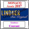 MONACO 2017 - Timbres Courants (T186/17-2017) Lindner
