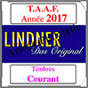 TAAF 2017 - Timbres Courants (T440/13-2017) Lindner