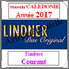 Nouvelle CALEDONIE 2017 - Timbres Courants (T446/10-2017) Lindner