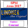 SAINT-PIERRE et MIQUELON 2017 - Timbres Courants (T448/08-2017) Lindner