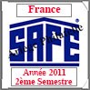 FRANCE 2011 - Jeu Timbres Courants - 2 ème Semestre (2137/112) Safe