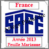 FRANCE 2013 - Feuille MARIANNE (2137/13A) Safe