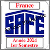 FRANCE 2014 - Jeu Timbres Courants - 1 er Semestre (2137/141) Safe