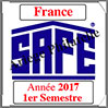 FRANCE 2017 - Jeu Timbres Courants - 1 er Semestre (2137/171) Safe