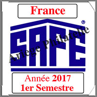 FRANCE 2017 - Jeu Timbres Courants - 1 er Semestre (2137/171)