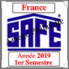 FRANCE 2019 - Jeu Timbres Courants - 1 er Semestre (2137/191) Safe