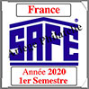 FRANCE 2020- Jeu Timbres Courants - 1 er Semestre (2137/201) Safe