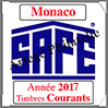 MONACO 2017 - Jeu Timbres Courants (2208-17) Safe