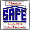 MONACO 2019 - Jeu Timbres Courants (2208-19) Safe