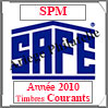 SAINT-PIERRE et MIQUELON 2010 - Jeu Timbres Courants (2480-10) Safe