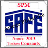 SAINT-PIERRE et MIQUELON 2013 - Jeu Timbres Courants (2480-13) Safe
