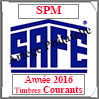 SAINT-PIERRE et MIQUELON 2016 - Jeu Timbres Courants (2480-16) Safe