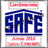LIECHTENSTEIN 2016 - Jeu Timbres Courants (2505-16) Safe