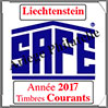 LIECHTENSTEIN 2017 - Jeu Timbres Courants (2505-17) Safe