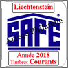 LIECHTENSTEIN 2018 - Jeu Timbres Courants (2505-18) Safe