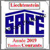 LIECHTENSTEIN 2019 - Jeu Timbres Courants (2505-19) Safe
