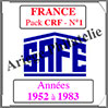 FRANCE - Pack 1952 à 1983 - Carnets Croix-Rouge (2575-1) Safe