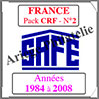 FRANCE - Pack 1984 à 2008 - Carnets Croix-Rouge (2575-2) Safe