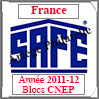 FRANCE 2012 - Jeu Blocs CNEP 2011 et 2012 (2628/12) Safe