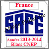 FRANCE 2014 - Jeu Blocs CNEP 2013 et 2014 (2628/14) Safe
