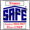 FRANCE 2017 - Jeu Blocs CNEP 2016 et 2017 (2628/17) Safe