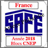 FRANCE 2018 - Jeu Blocs CNEP 2018 (2628/18) Safe