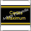 ETIQUETTE Autocollante - CARTES MAXIMUM (Cartes Maximum) Safe