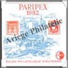PARIPEX - 1982 -  Salon Philatélique de PARIS - Type 2 (CNEP N°3A) CNEP