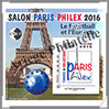 PARIS - 2016 -  Salon PHILEX 2016 (CNEP N°72) CNEP