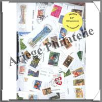 France (Grands Formats) - 500 Grammes de Timbres (Fragments)