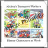 Mickey's Transport Workers (Bloc) Loisirs et Collections